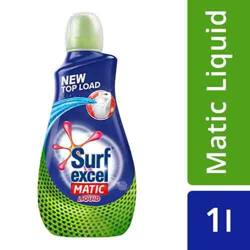 Surf Excel Liquid Detergent - Matic, Top Load, 1 L