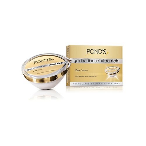 Upto 20% Off On Ponds By Bigbasket | Ponds Gold Radiance - Ultra Rich Day Cream, 50 gm @ Rs.799.20