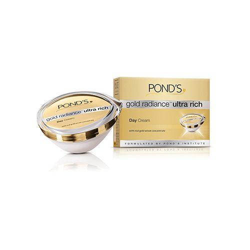 Upto 20% Off On Ponds By Bigbasket | Ponds Gold Radiance - Ultra Rich Day Cream, 50 gm @ Rs.799.20
