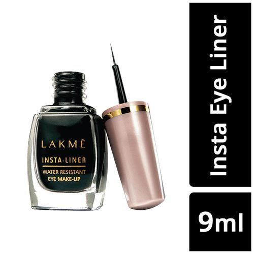 Lakme Insta Eye Liner - Black, 9 ml