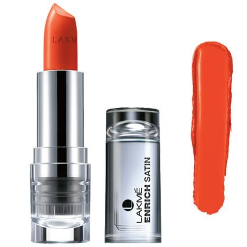 Lakme Enrich Satins Lip Color, 4.3 g Shade R365