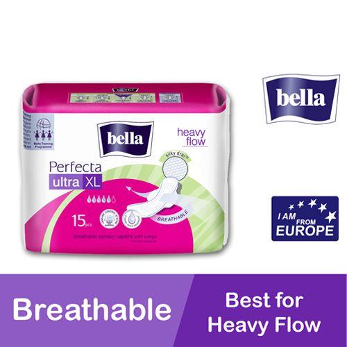 Buy Bella Sanitary Napkins Perfecta Ultra Xl Heavy Flow
