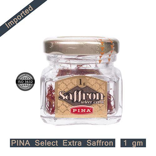 Pina Saffron - Select Extra, 1 g Glass Jar