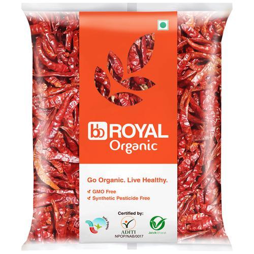 BB Royal Organic - Byadagi Chilli Whole, 100 g