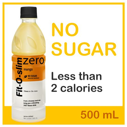 Fit -O-Slim Soft Drink - Mango Flavour, 500 ml