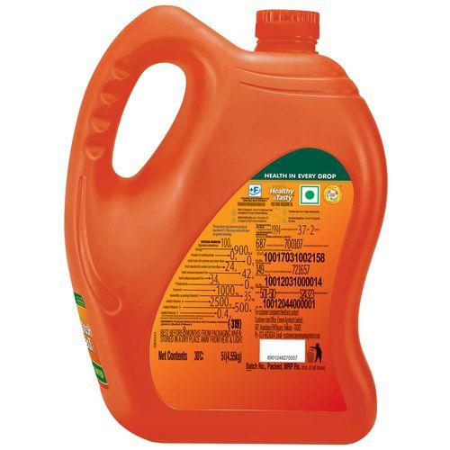 Emami Healthy & Tasty - Rice Bran Oil, 5 L