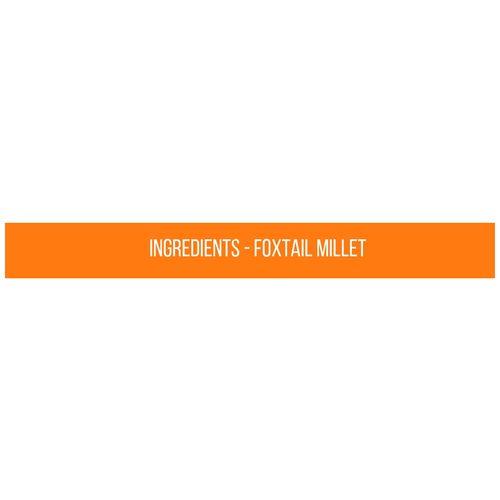 Safe Harvest Foxtail Millet Rice - Pesticide Free, 500 g