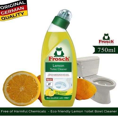Frosch Toilet Cleaner - Lemon, 750 ml