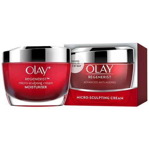 Olay Regenerist - Advanced Anti-Ageing Micro Sculpting Skin Cream Moisturizer SPF30, 50 g