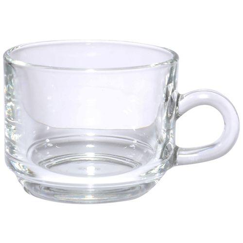 Ocean Tea Cups With Saucer Set - Stack, 200 ml