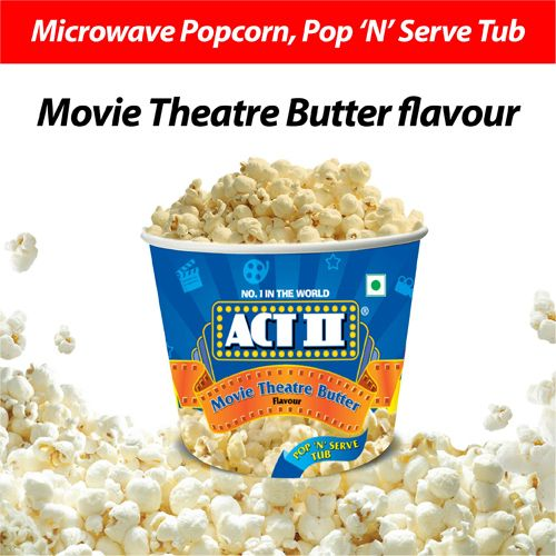 ACT II Microwave Popcorn - Movie Theatre Butter, 130 g