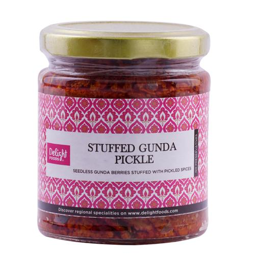 Delight Foods Pickle - Stuffed Gunda, 200 g