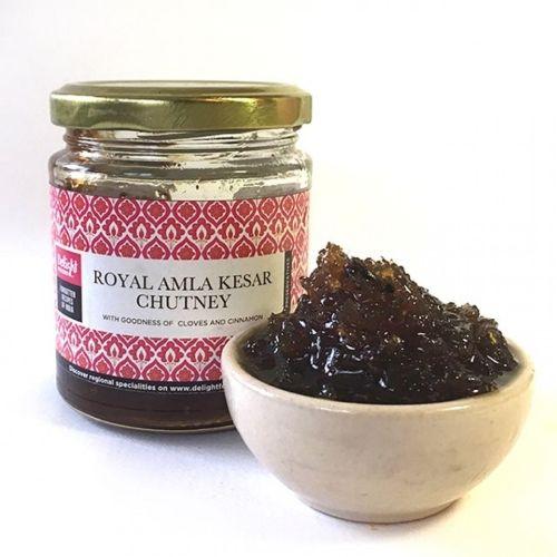 Delight Foods Chutney - Royal Amla Kesar, 200 g