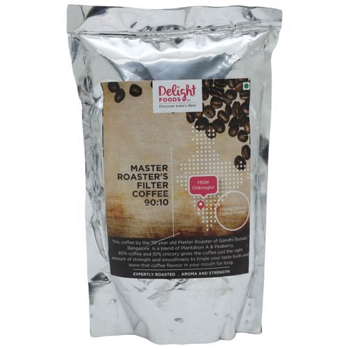 Delight Foods Coffee - Freshly Roasted Filter (90:10), 250 g