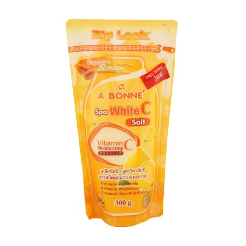 A Bonne Spa White C Salt, 350 gm