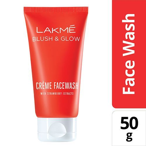Lakme Face Wash - Strawberry Creme 50 gm