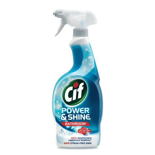 Bathroom Cleaner cif bathroom cleaner - power & shine 700 ml: buy online at best