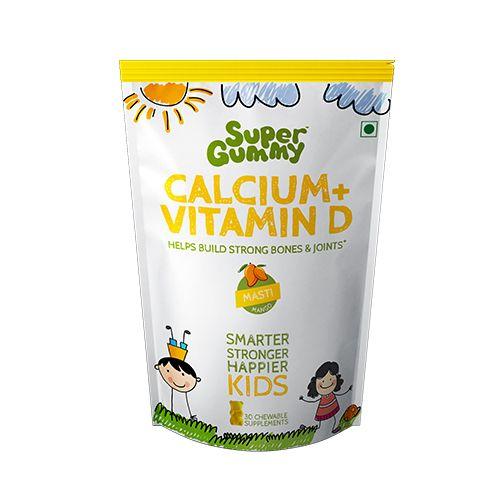Super Gummy  Calcium + D3, 102 g