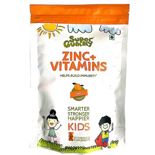 Super Gummy  Zinc + Vitamin C, 102 g