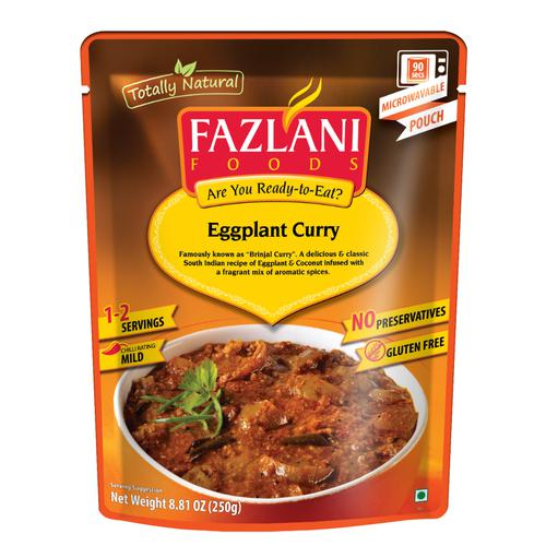 Fazlani Foods Ready To Eat - Brinjal Curry, 250 g