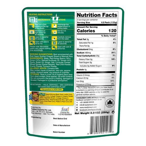 Fazlani Foods Ready To Eat - Rajma Masala, 250 g