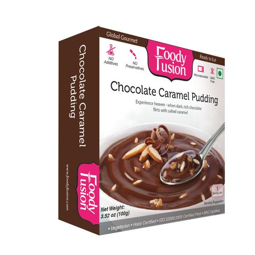 Foody Fusion Pudding - Chocolate Caramel, 100 g