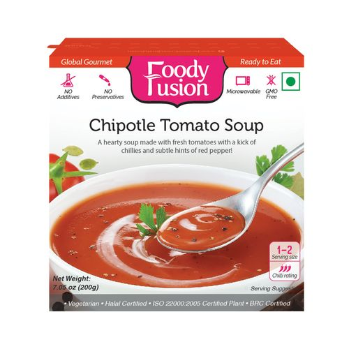 Foody Fusion Soup - Chipotle Tomato, 200 g