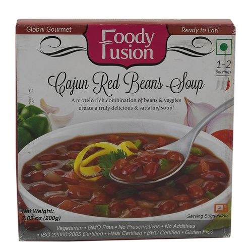 Foody Fusion Soup - Cajun Red Beans, 200 g