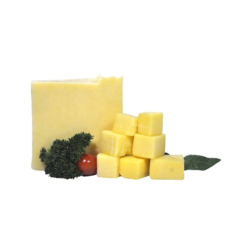Fresho Signature Cheddar Cheese Block - White, Diced, 200 g