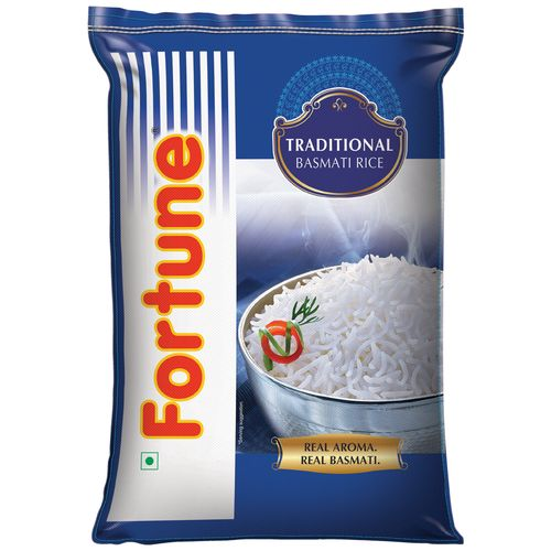 Fortune  Traditional Basmati Rice - Full Grain, 25 kg