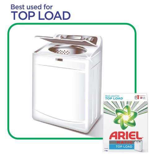 Ariel  Matic Detergent Washing Powder - Top Load, 1 kg
