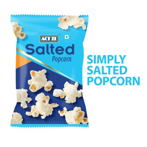 ACT II Instant Popcorn - Simply Salted, 50 g