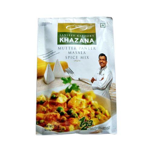 Sanjeev Kapoors Khazana Masala - Mutter Paneer Spice Mix, 75 g