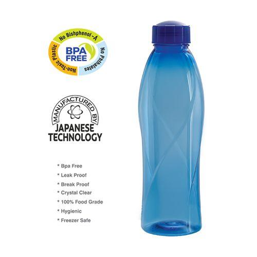 Buy Cello Texas Pet Bottle Set Blue 6 Pcs Online At Best