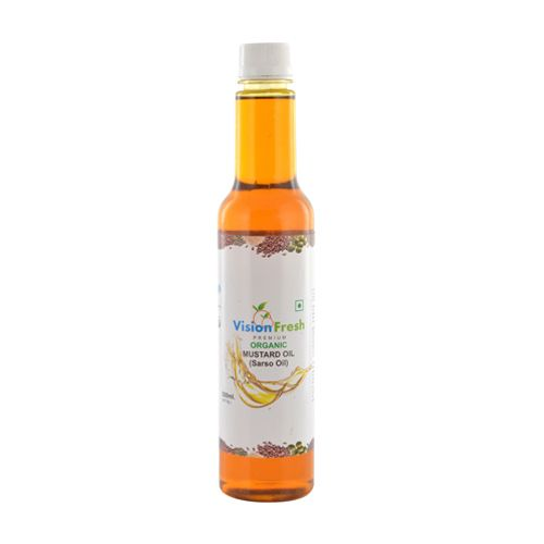 Vision Fresh Organic - Mustard Oil, 500 ml