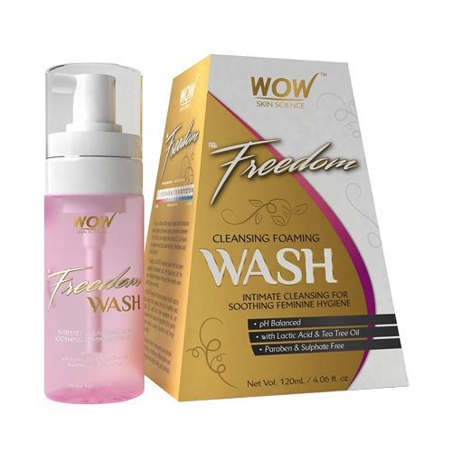WOW! Cleansing Foaming Wash - Freedom, 120 ml
