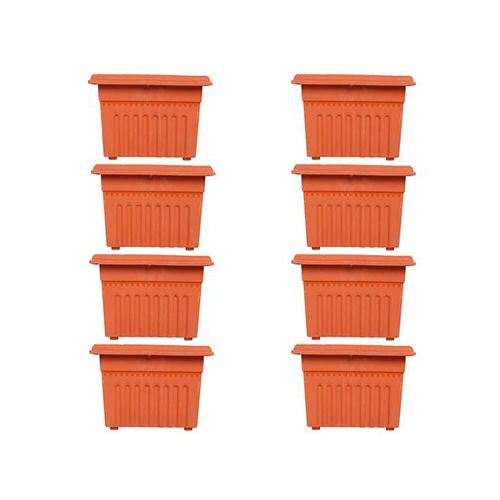 Buy Trust Basket 8 Square Uv Treated Heavy Duty Plastic Planter 12