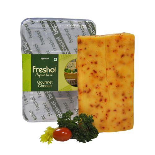 Fresho Signature Cheese - Pepper Jack, Block, 100 g