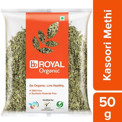 BB Royal Organic Kasoori Methi, 50 g