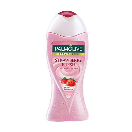 Palmolive Body Wash - Body Butter Strawberry Fresh Imported, 250 ml