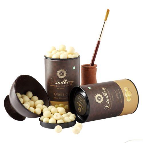 Lindberg Classic White Chocolate Crispies, 100 g
