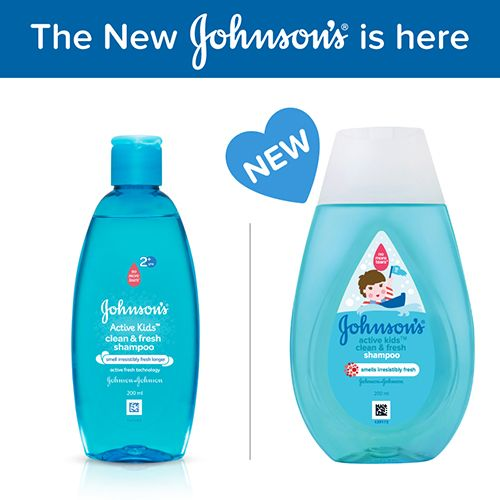Buy Johnsons Active Kids Shampoo Clean Fresh 200 Ml Online