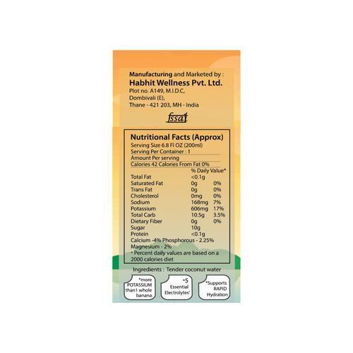 Mojoco Tender Coconut Water, 200 ml