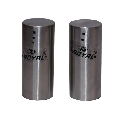 Buy Apex Royal Stainless Steel Salt Pepper Shaker Round 2 Pcs Online