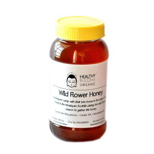 Healthy Buddha Honey - Organic Wild Flower (Himalayan), 500 g