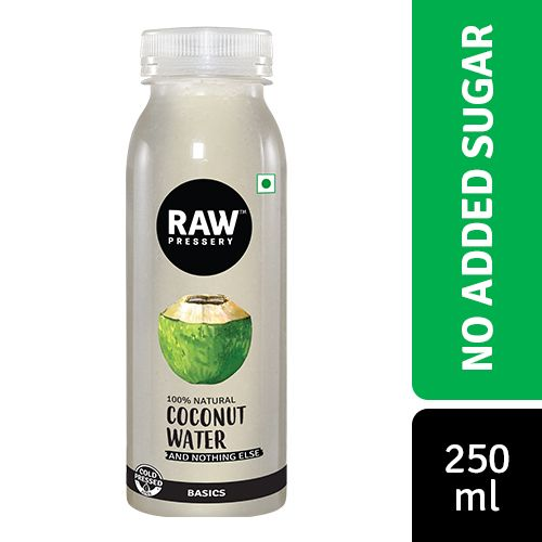 Raw Pressery Coconut Water - 100% Natural, 250 ml