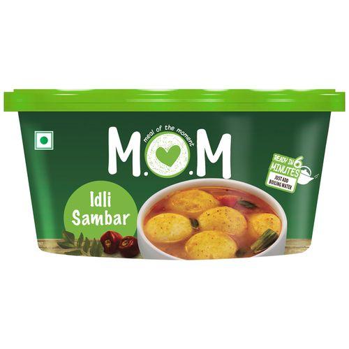 MOM Meal of the Moment Instant Meal - Idli Sambhar, 60 g Tub