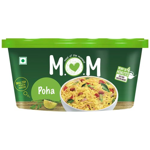 MOM Meal of the Moment Instant Meal - Poha, 80 g Tub