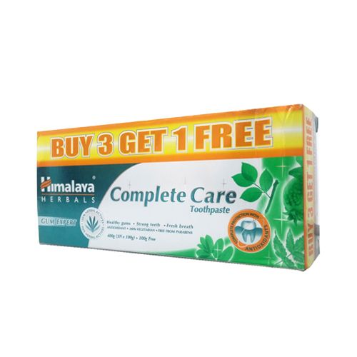 Himalaya Complete Care Toothpaste, 80 g (Buy 3 Get 1 Free)