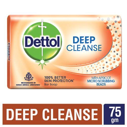 Dettol Germ Protection Bathing Soap - Deep Cleanse, 75 g